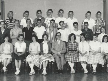 McConaghy Grade 8 class 1959-'60