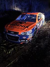 Stolen No. 44 NASCAR race car found in suburban Atlanta-Image1