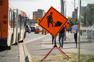 Mississauga has moved to widen the right-of-way along Dundas Street ahead of constructing rapid bus lanes on the street.