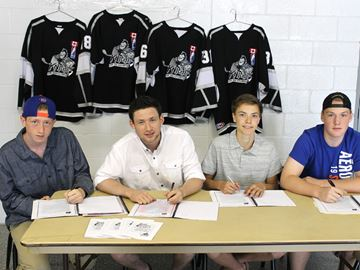 Knights of Meaford add four players to roster