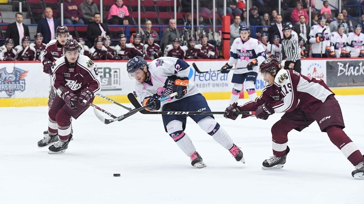 Flint Firebirds douse Peterborough Petes in 6-2 road loss