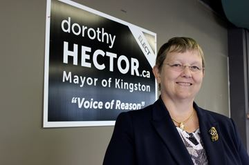 Mayoral candidate Dorothy Hector