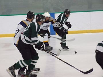 Orillia OPP face off against PF for a cause