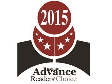 Barrie Advance 2015 Readers' Choice Awards