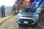 SUV stuck in TTC tunnel