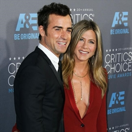 Justin Theroux spoiling Jennifer Aniston on her birthday-Image1