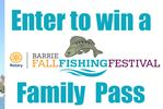 Win a Barrie Fall Fishing Festival Family Pass