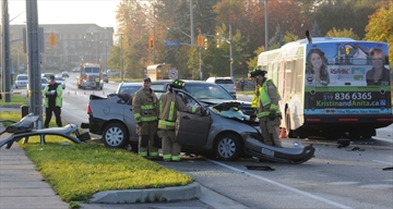 Guelph Transit collision