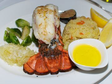 LOBSTER MAIN COURSE