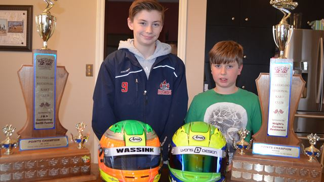 Millgrove racers win WRKC points titles