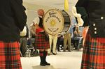 Sound of pipes and drums fills Midland hall
