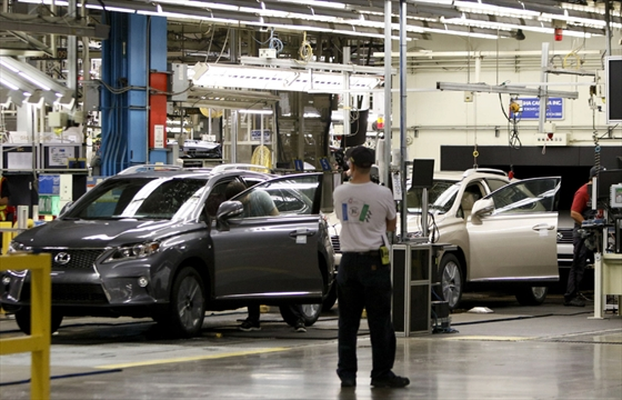 Toyota Plant In Cambridge To Start Making Rav4 Therecord Com