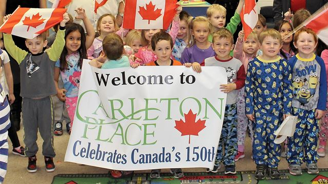 Carleton Place celebrates Canada's 150th