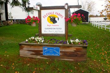 Eilevale Farms in Battersea received one of 10 BMO Farm Family Awards for 2014.