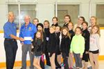 Meaford Rotary donates to skating club