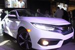 Honda unveils 2016 Honda Civic in Alliston