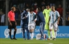 Argentine star Messi leaves Honduras match with back injury-Image5