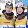 Canadian moguls skiers dominate second straight World Cup event