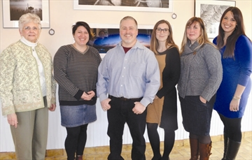 From March 1 - 30, Galop Gallery located at 614 Hwy. 2 and Bridge Street in Cardinal presents