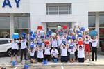 Holiday Ford employees take part in the Ice Bucket Challenge