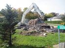 Falls House torn down
