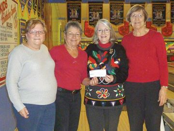 Angels with Backpacks bowled over by Midland business's donation