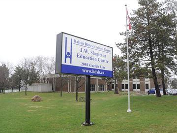 New website design for Halton District School Board