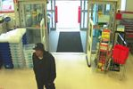 Suspect sought in theft at Staples