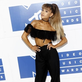 Ariana Grande trying to be OK with fame-Image1