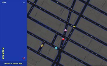 Google and Pac Man