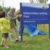 Midland celebrates 'historic day' on waterfront